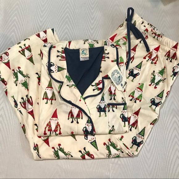 Munki Munki Gnome Holiday Pajama Set Christmas 420024416
